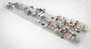 锂电池模组自动化生产线