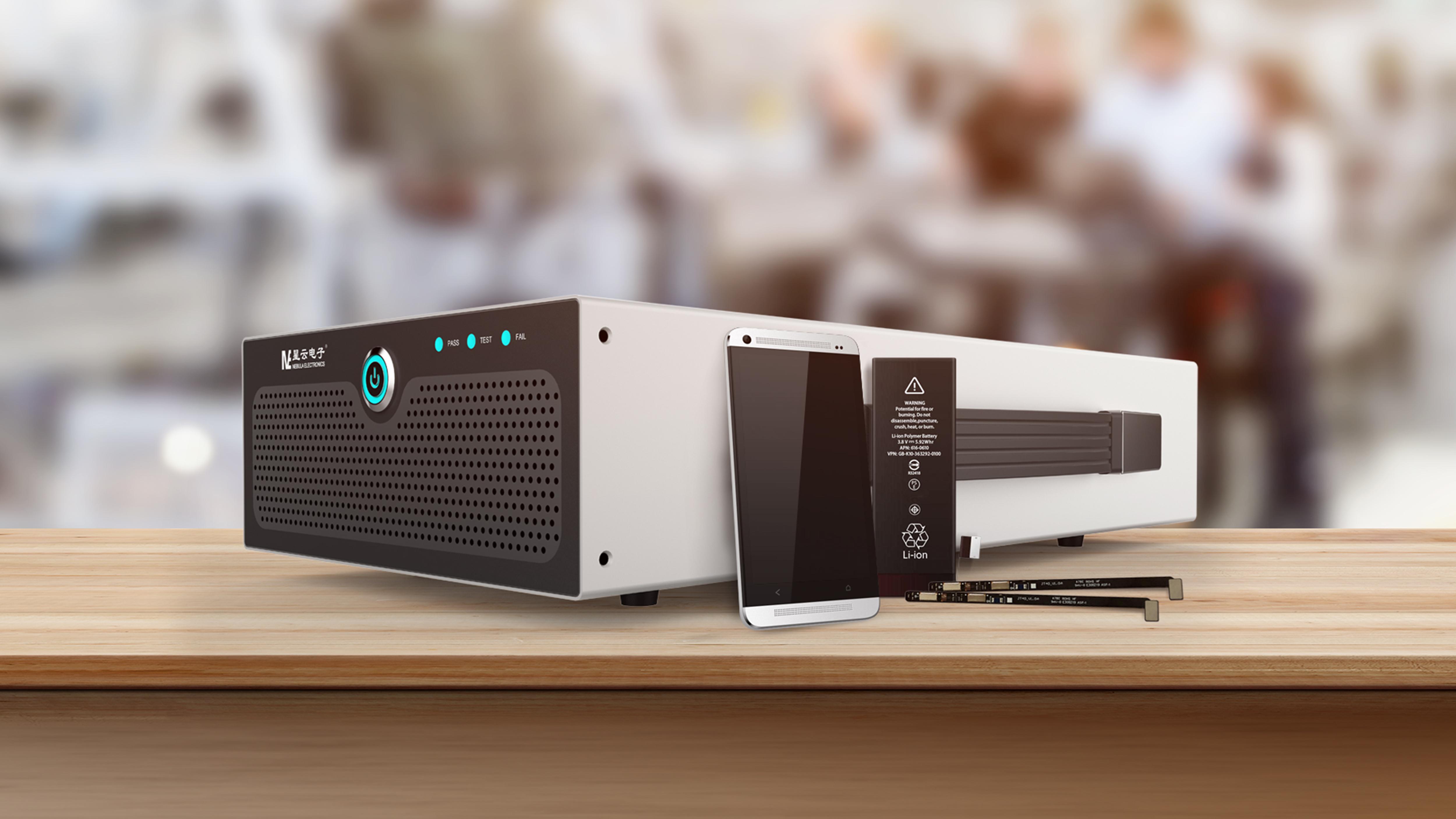 星云手机数码锂电池组成品测试系统BAT-NEPDQ-01B-V016 Featured Image